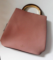 NOVA Moderna dvostrana torba u pastelnim bojama