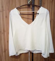 Zara crop bluza prelepa xs/s