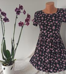 DIVIDED by H&M cvetna haljina vel 34