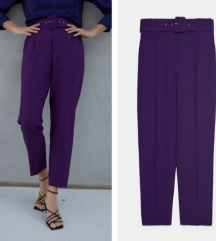 Zara purple pants NOVO 50% off