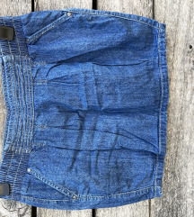 ORSAY mini teksasa suknja