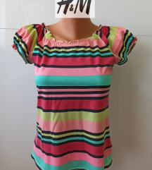 H&M majica na štrafte