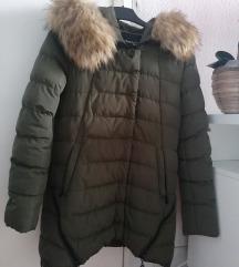 Perjana maslinasto zelena topla jakna