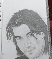 Crtam portrete :)
