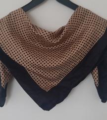 Vintage svilena marama, NOVO