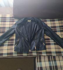 Kozna crna jaknica