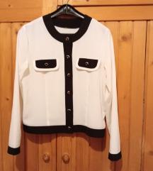 Prelepa bela žoržet košulja, 40, NOVO
