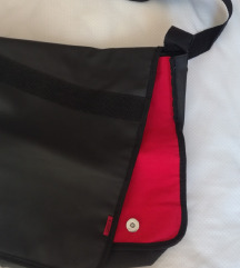 %%%HUGO BOSS unisex torba crno crvena