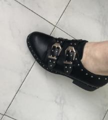 Crne kozne italijanske cipele  36 SNIZENE