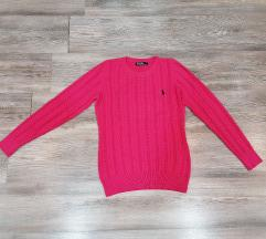 Polo pink džemper