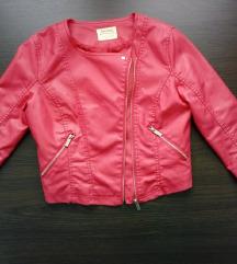 Pink jaknjica 3/4 rukavi