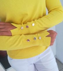 Divna bluza tanja mekana trikotaža Vel S M