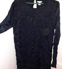 H&M Svecana svilena haljinica