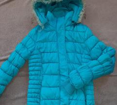 Prelepa tirkizna jakna S/M