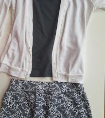 Suknja rebrastog pamuka
