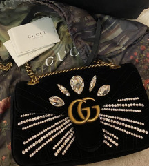 original gucci marmont velvet bag, limited edition