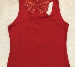 LA SENZA original skupocena crvena majica