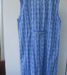 Klasična cvetna pamučna haljina