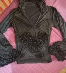 Crna FLAMENKO bluzica