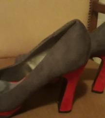 Sivo-crvene cipele