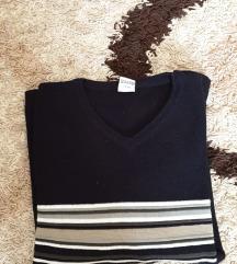 Muški crni džemper