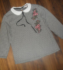 C&A pepito bluza sa vezom i kragnom!!