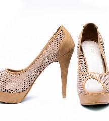 Oker rupicaste sandalete - cipele