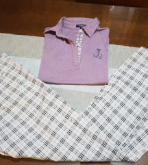 Burberry pantalone i majica snizeno 500