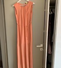 Massimo Dutti svilena haljina S/M