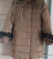 Omirenuo krzno i perije jakna iz Moskve SNIZENO%%