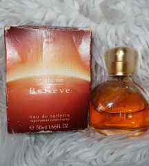 Believe oriflame vintage edt 50 ml original