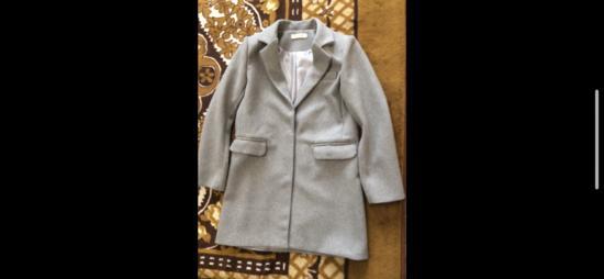 Sivi kaput od čoje