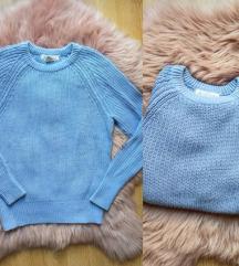 H&M baby blue dzemper