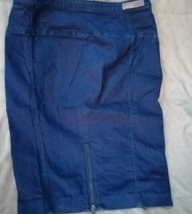 GUESS / teget teksas suknja