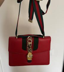 Crvena torba  gucci
