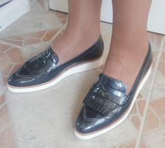 HOGL vrhunske sive kozne cipele potpuno NOVE