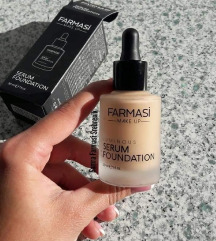 Serum fondation puder