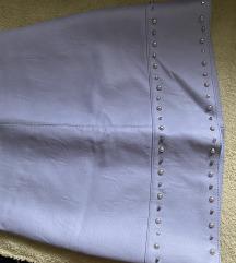 Kozna suknja snizena 1000