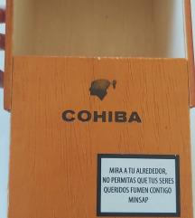 Original Cohiba kutija za tompuse sa Kube