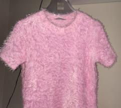 Zara pink majica