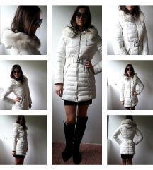 Zimska jakna sa  krznom nova