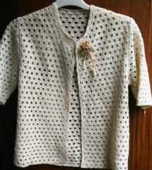 Heklani bluzon sa kratkim rukavima vel. S/M