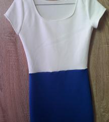 Nova plavo bela haljina