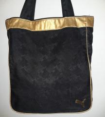 Puma crna torba na rame original