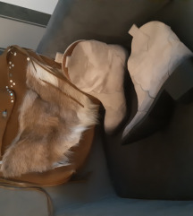 Kozna tasna + cipele