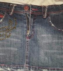 Elite Jeans teksas suknjica