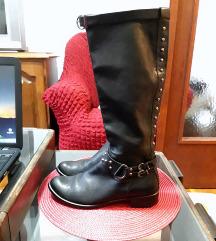 Kozne cizme sa nitnama 39