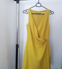 mango zuta haljina