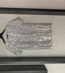Haljina sa krljustima M Zara