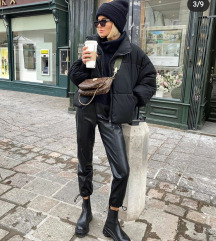 NOVO Zara kožne pantalone